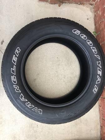 Photo GoodYear Wrangler all-terrain Tires - $500 (Warner Robins)