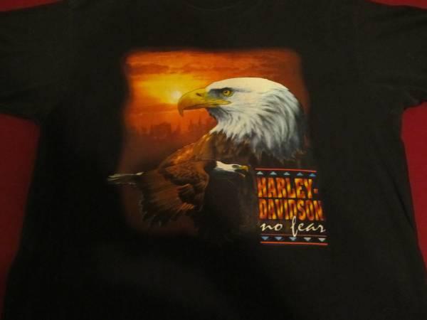 Photo Harley-Davidson Tee XL 1993 New Haven CT - $40 (MACON)