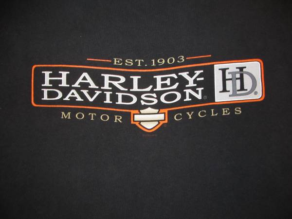 Photo Harley-Davidson Tee XL Orwicburg, PA Deka Batteries Schaffer39s - $20 (MACON)