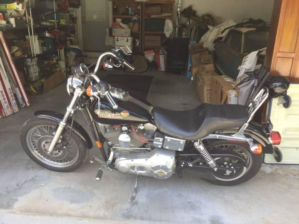 Photo Harley Davidson dyna super glide - $5,250 (Macon)