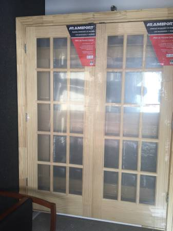 Photo Interior French double doors 5 - $165 (Macon GA)