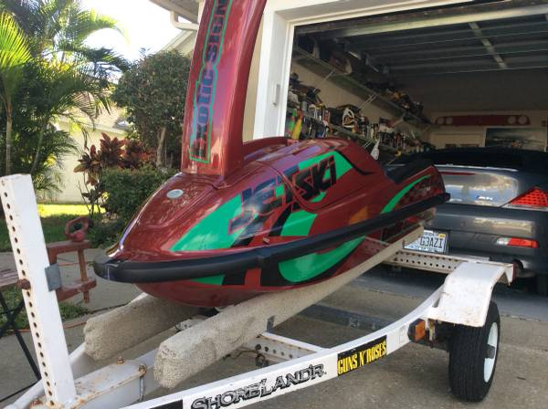 Photo Kawasaki Stand Up Jet Ski 750cc Sxi Pro - SXR- Superjet - Like New - $3500 (Lake Oconee)