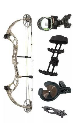 Photo New Bear Cruzer RTH right hand Compound Bow - $325 (Centerville)