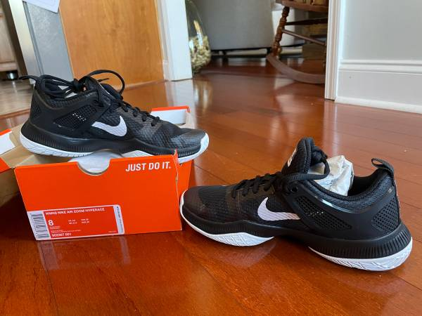 Photo Nike Air Zoom Hyperace Volleyball Shoes (Womens Size 8) - $20 (Kathleen GA)