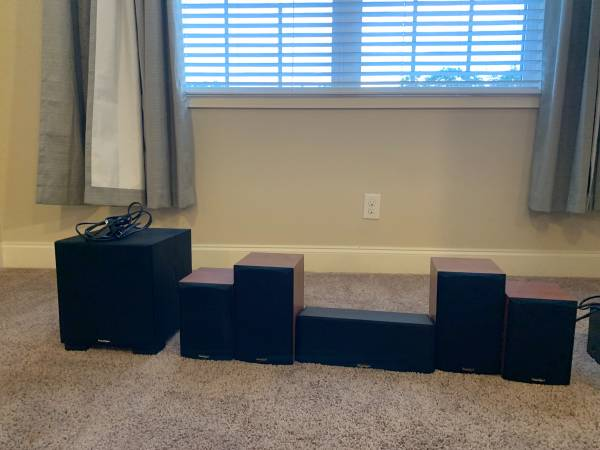 Photo Paradigm speakers - $100 (Centerville)