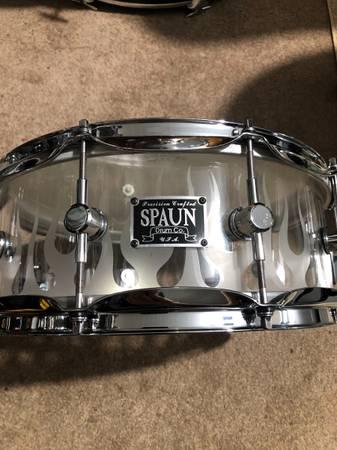Photo Spaun acrylic fireside snare - $265 (Covington)