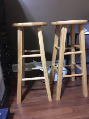 Photo Two Bar Stools - $10 (Macon)