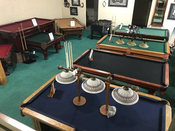 Photo Used Pool Table- Installation Included - $123456 (Macon)