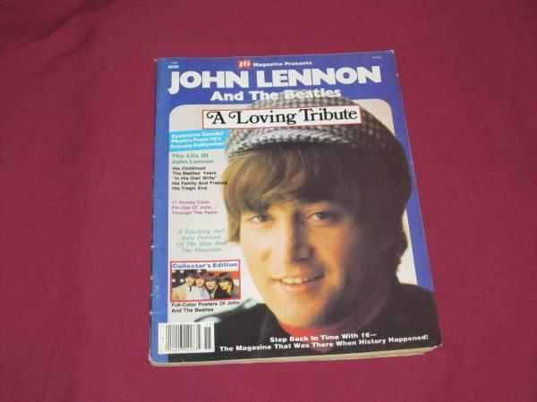 Photo VTG.1981 16 Magazine John Lennon and the Beatles A loving Tribute - $10 (MACON)