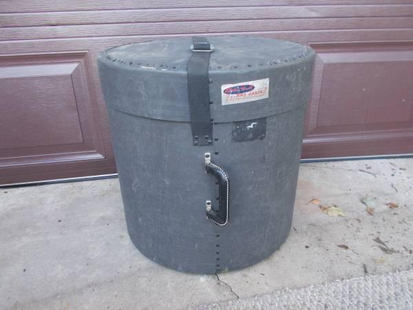Photo Vintage 197039s Fibre USA 16x16 floor tom case for drum set - $25 (Forsyth)