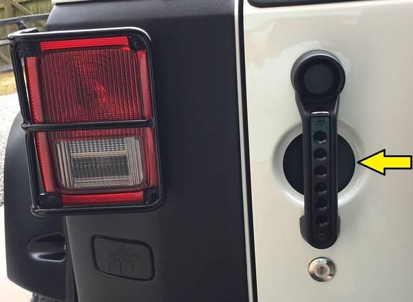Photo _Set of 5 JEEP Wrangler JKUJK Door-Handle-Inserts for CHEAP See PICS - $20 (Northeast)