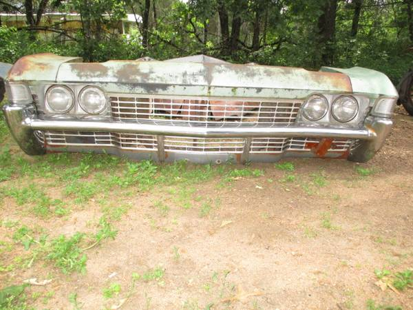 Photo 1968 Impala Front clip - $1 (Amherst WI)