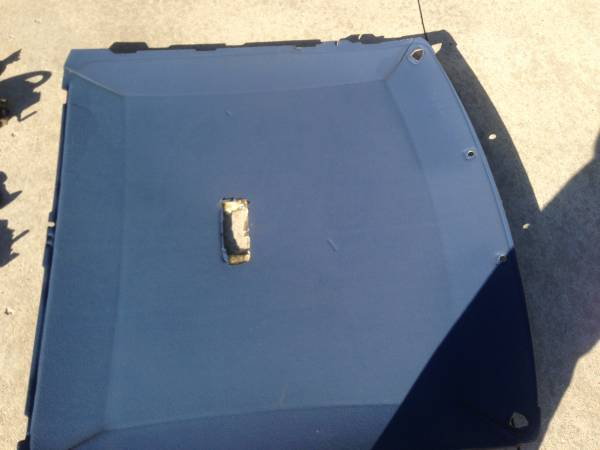 Photo 1992 1993 1994 1995 1996 F150 F250 F350 headliner blue - $100 (Brooklyn)