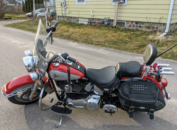Photo 2002 Harley-Davidson Heritage Softail - $5,500 (Baraboo)