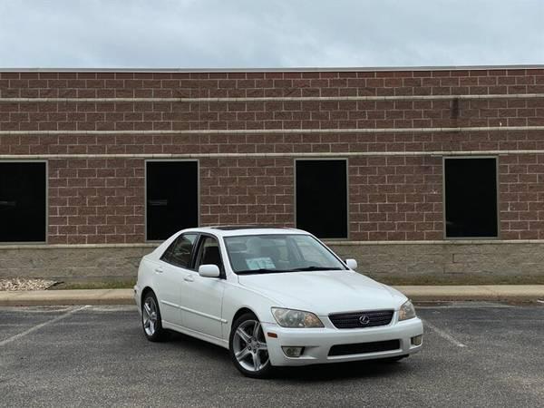 Photo 2002 Lexus IS 300 CLASSY Color Combo-WhiteTan  SUNROOF  SHARP R - $5,995 (SPORTY  Classy Sedan with SWEET Rims)