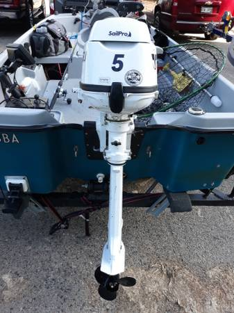 Photo 2019 Tohatsu 5hp Propane outboard - $1,300 (Madison)