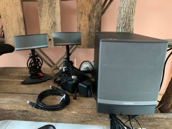 Photo Bose companion 5 computer speakers - $150 (Wisconsin Dells)
