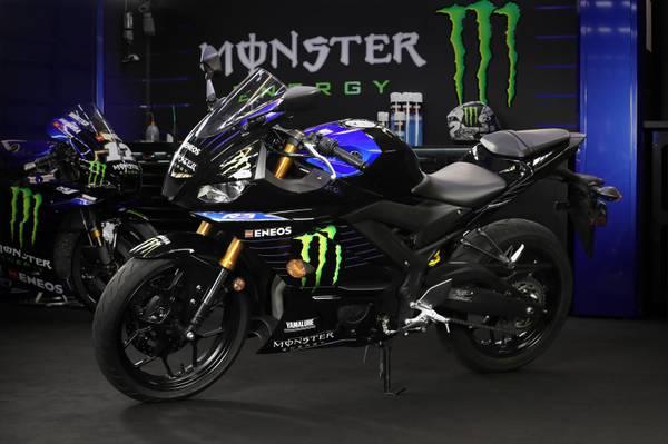 Photo Brand NEW 2021 Yamaha YZF R3 ABS Monster Energy Yamaha Moto-GP Edition - $5,599 (JOHNSON CREEK)