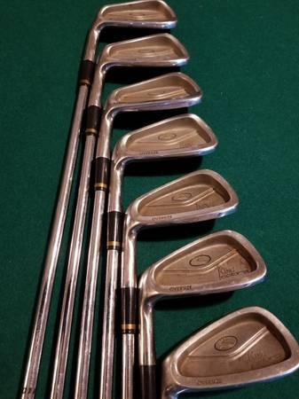 Photo Cobra King Cobra Oversize Left Hand Iron Set Golf Clubs - $90 (Johnson Creek)