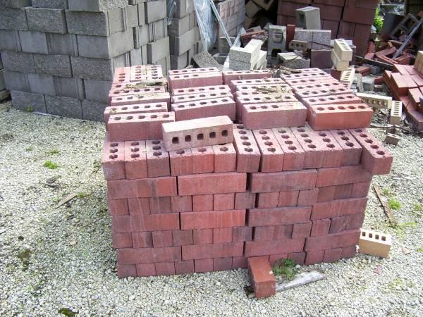 Photo Concrete brick - Red - $75 (Marshall)