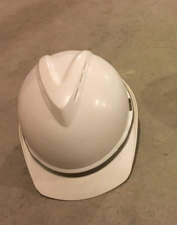Photo Constructionworkshop Hard hat, safety goggles (Madison)