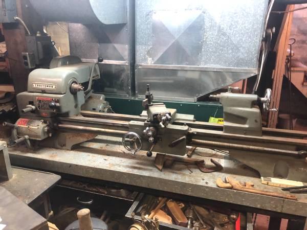 Photo Craftsman single phase 12 Metal Turning Lathe - $1,500 (Reedsburg)