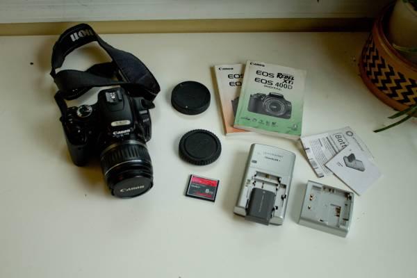 Photo DSLR Camera - Canon EOS Rebel XTI 400D - $180 (East Madison)