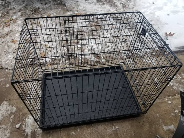 Photo Dog Kennel Carrier - $50 (Portage)