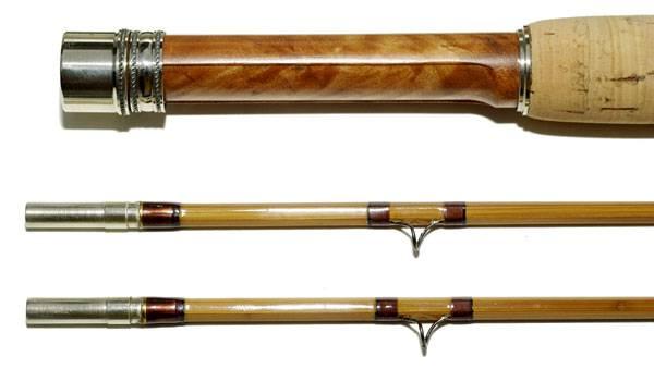 Photo Fly Fishing Bamboo Rod, FlyFishing Reel, Line Backing, FlyLine, Leader - $450 (Madison, WI)