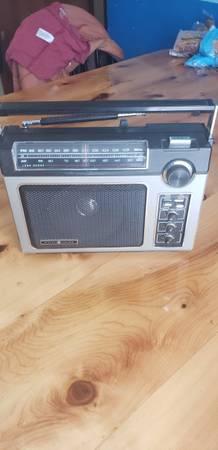 Photo G. E. Super radio for sale - $35 (Richland Center, Wis.)