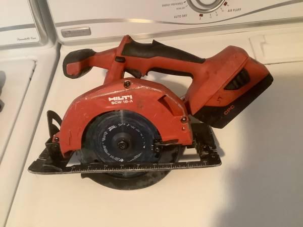 Photo HILTI 18 used tools - $60 (Cottage Grove)