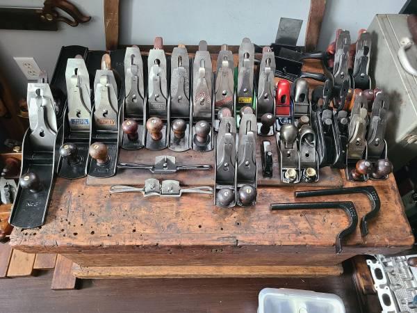 Photo Hand Planes, Spokeshaves, Scrapers - Vintage Tools - $20 (Madison)
