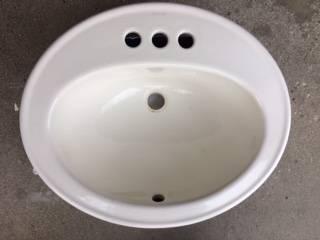 Photo Kohler drop in bathroom sink - $10 (McFarland)