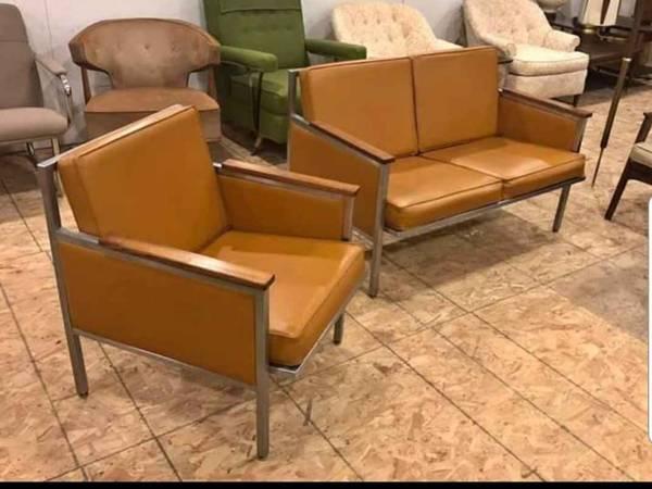 Mcm Vintage Sofa And Chair 250