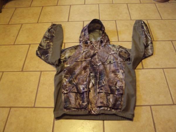 Photo Mens Mad Dog Gear Waterproof Real Tree Camo Hunting Coat-Size M - $27 (Cross Plains)