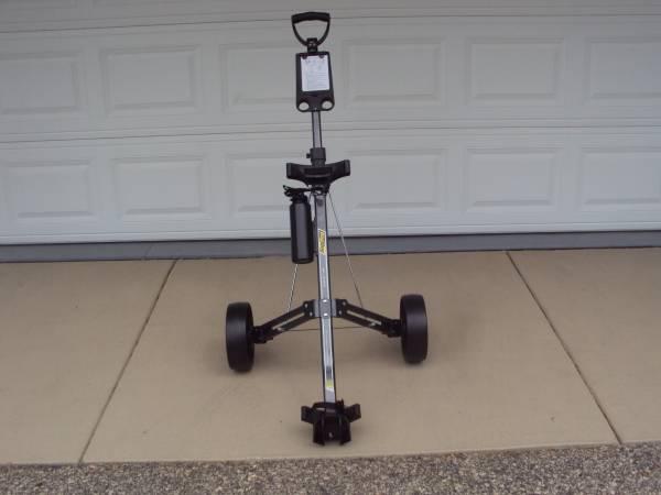 Photo New WO Tags Bag Boy PushPull Golf Cart - $70 (Cross Plains)