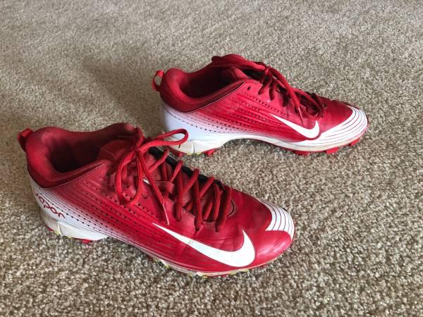 Photo Nike Vapor Baseball Cleats, Size 9.5 - $25 (Mt Horeb  Verona)