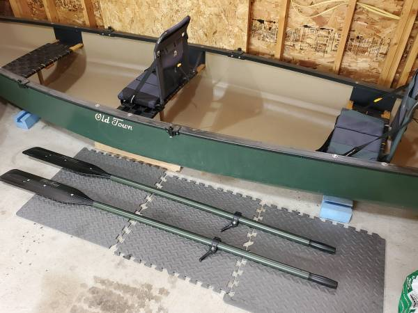 Photo Old Town Discovery Sport 15 Canoe - $900 (Black Earth)
