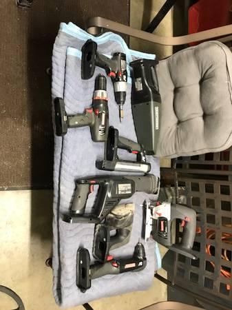 Photo REDUCED-Complete Craftsman 19.2 volt tool set - $50 (Monroe)