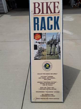 Photo RV Ladder Bike Rack - $50 (Monona)
