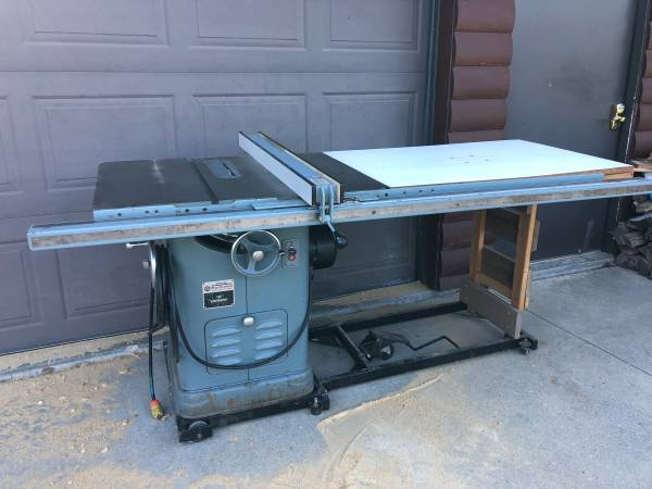 Photo Rockwell  Delta 10 Unisaw Table Saw - $2,000 (Lodi)