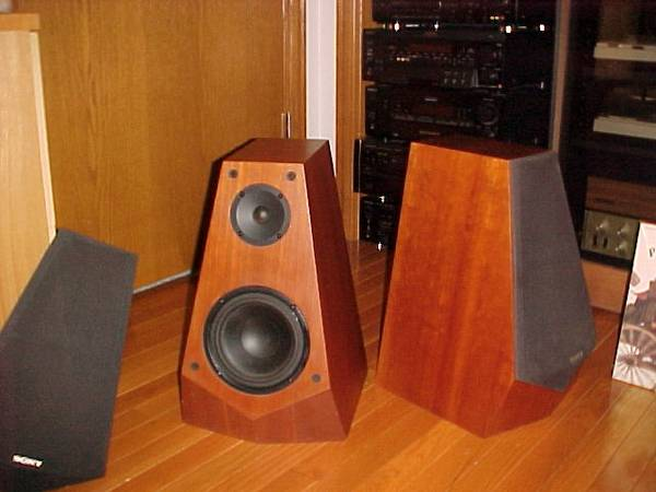 Photo SONY SS-M3 PYRAMID SPEAKERS VINTAGE  - $325 (LITTLE SUAMICO, GB)