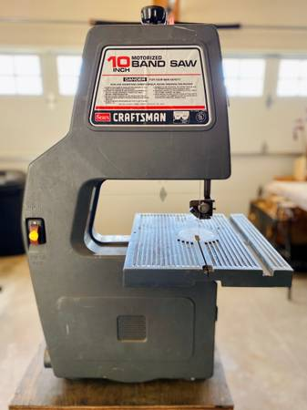 Photo Sears Craftsman 10 Bandsaw - $130 (Black Earth)