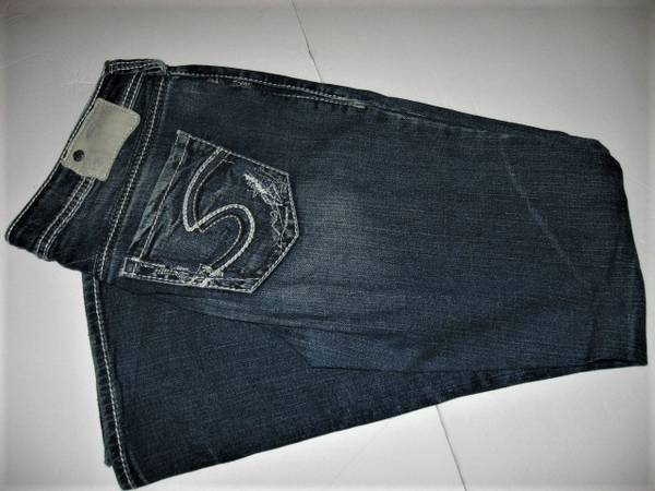 Photo Silver Jeans 29 x 33 - $10 (Madison east)