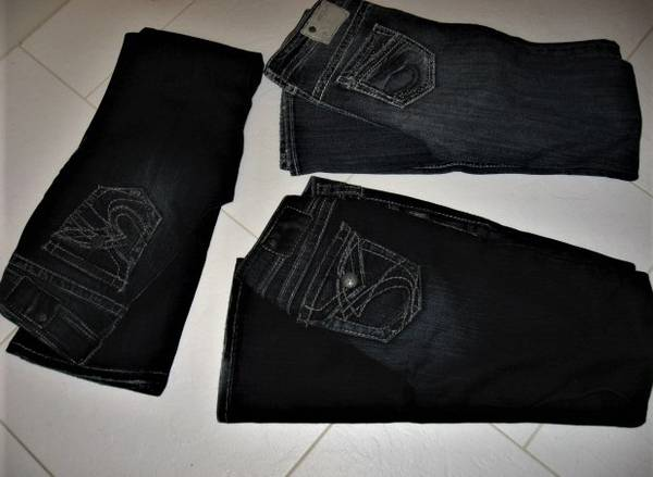 Photo Silver Jeans Sz 26 - $15 (Madison east)