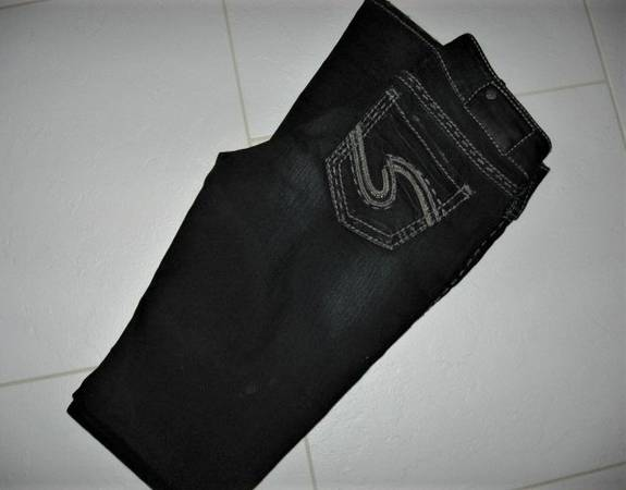 Photo Silver Jeans Sz 26  33 - $15 (Madison east)