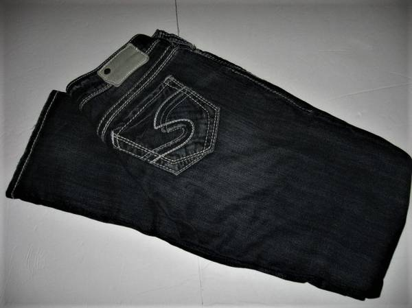 Photo Silver Jeans Sz 28 32 Suki Straight - $15 (Madison east)