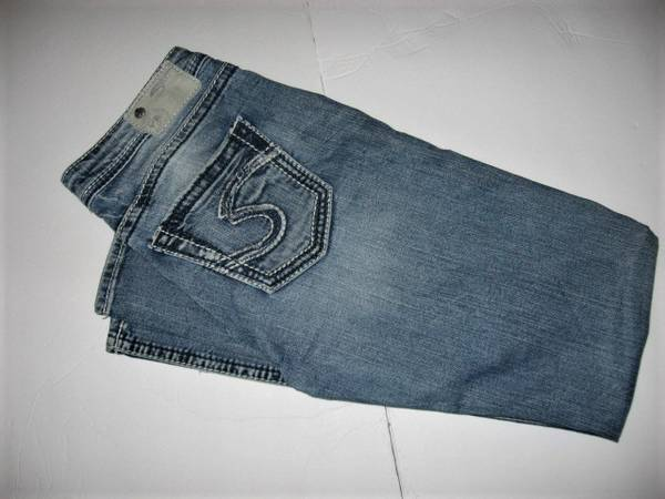 Photo Silver Jeans Sz 29  33 - $10 (Madison east)