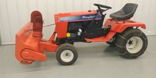 Photo Simplicity Sovereign Garden Tractor - $1,500 (Juda)