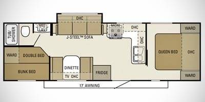 Photo Starcraft 288 BHS cing trailer - $10,500 (Sun Pairie WI)